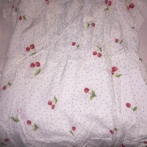 Forever 21 Dresses - Forever 21 Plus Cherry Polka Dot Wrap Dress 🐝 0X